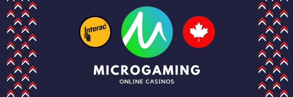 microgaming online casinos accept Interac deposits