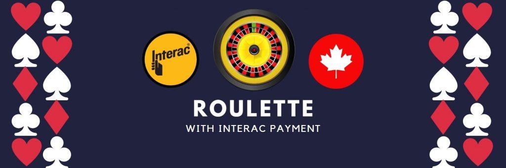 interac deposit roulette