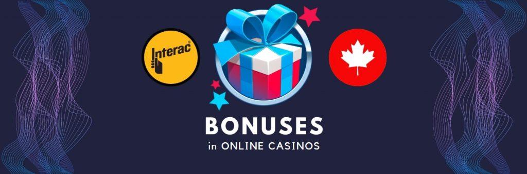 interac casino bonuses